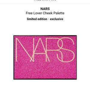 Nars studio 54 cheek palette free lover